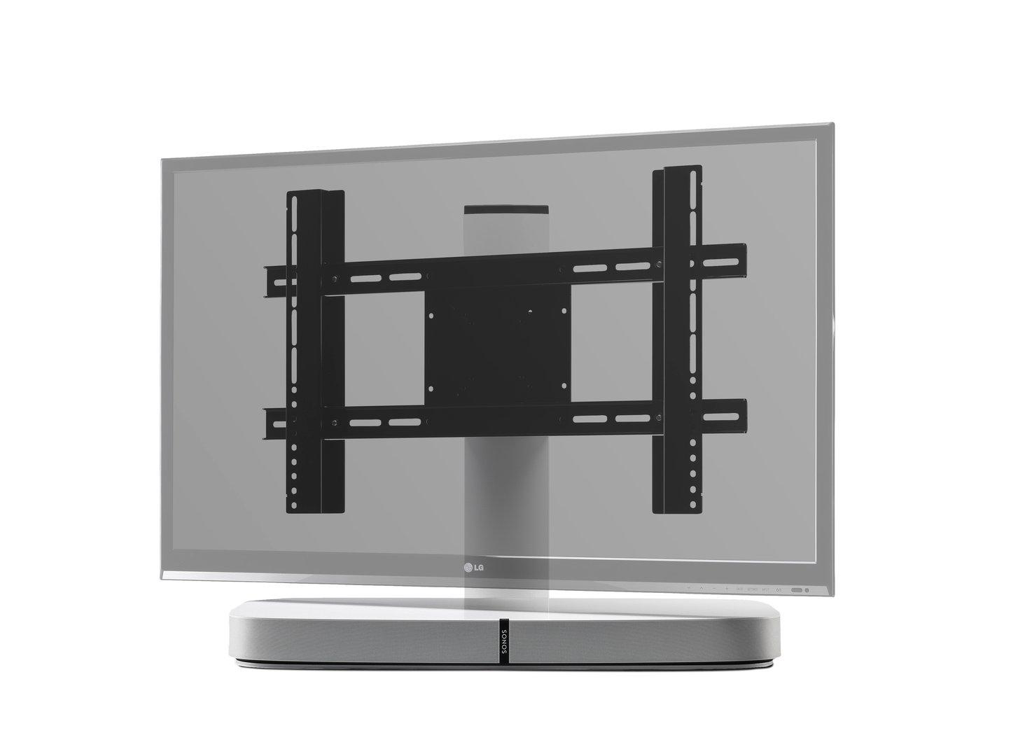 tv standfu f r sonos playbase wei. Black Bedroom Furniture Sets. Home Design Ideas